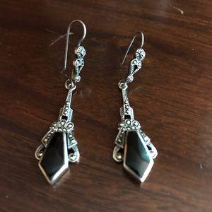 Jewelry - Art Deco Silver Earrings